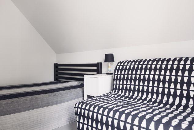 łóżko małżeńskie fotel rozkładany sypialnia